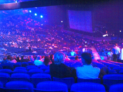 my first glimspe of the o2. it did fill up.